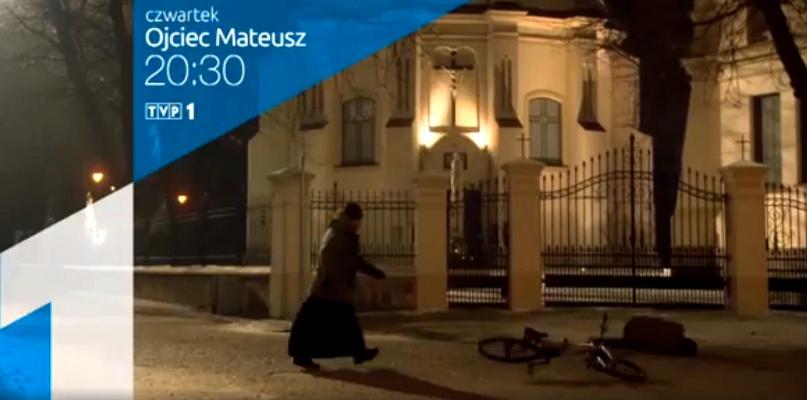 Ojciec Mateusz z Płocka już dziś w TVP1. Zobaczcie zwiastun - Zdjęcie główne
