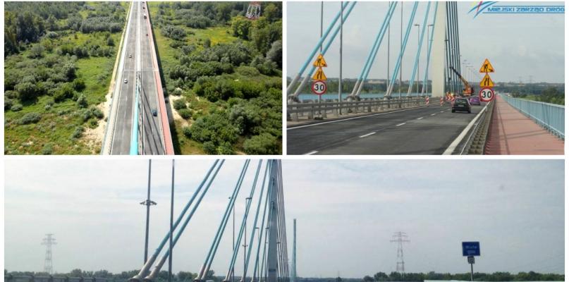 Uwaga, kierowcy! Zwężenie jezdni na nowym moście - Zdjęcie główne