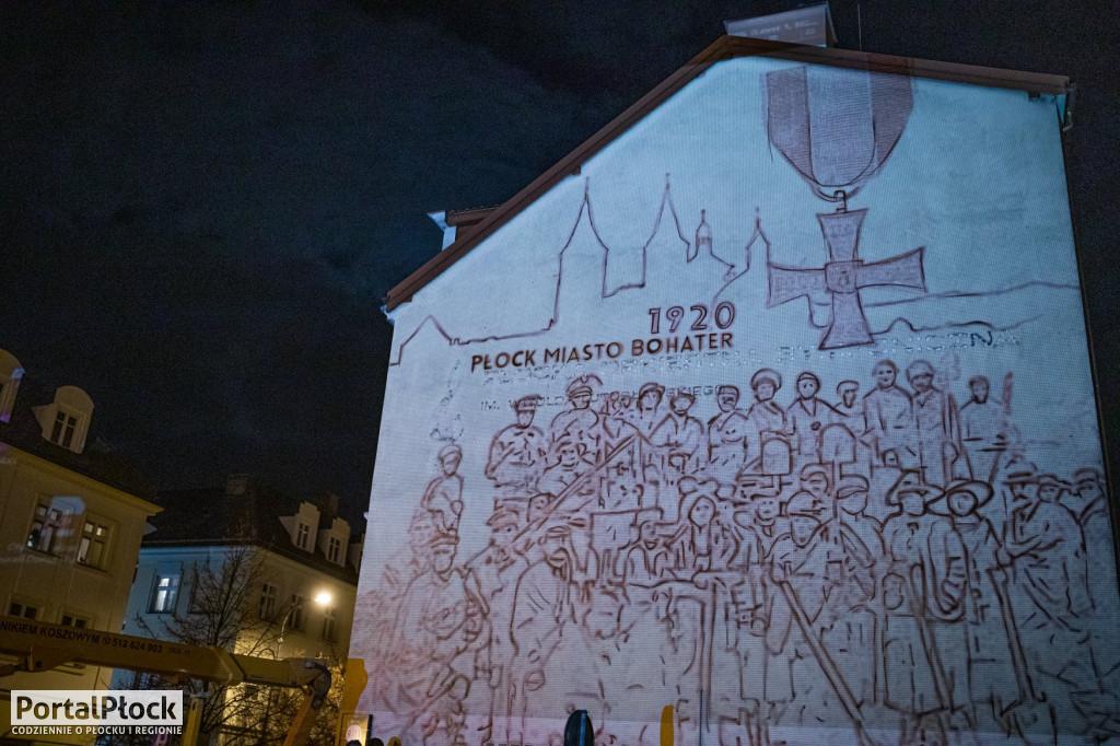 Na kamienicy przy ul. Bielskiej powstaje mural - Zdjęcie główne