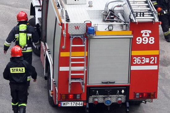 Pożar w mieszkaniu w centrum Płocka - Zdjęcie główne