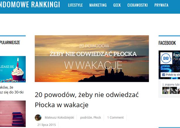 Nie przyjeżdżaj do Płocka - radzi płocczanin  - Zdjęcie główne