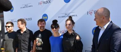 """TVN promuje """"Pod powierzchnią"""". Aktorzy: Płock to wyjątkowe miejsce i piękne widoki - Zdjęcie główne"""