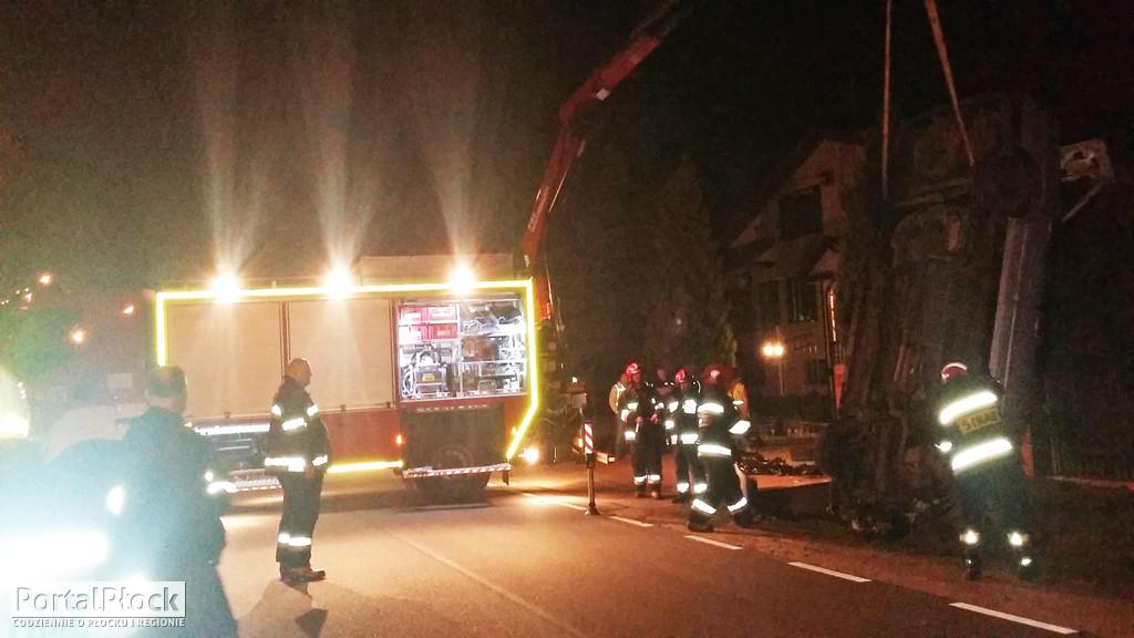 Wypadek w Sikorzu pod Płockiem - Zdjęcie główne