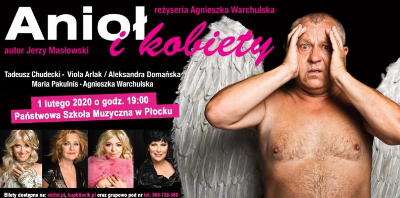 Anioł i kobiety, czyli spektakl nieziemski! - Zdjęcie główne