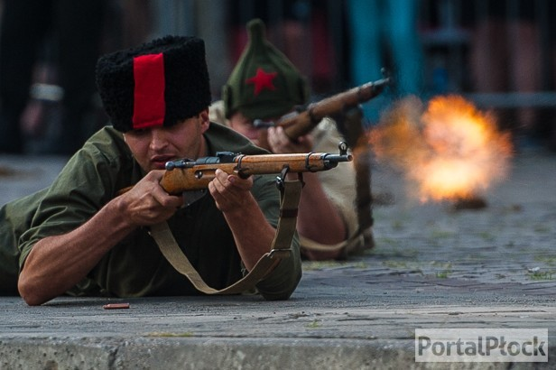 Huki i strzały na płockiej starówce [FOTO] - Zdjęcie główne