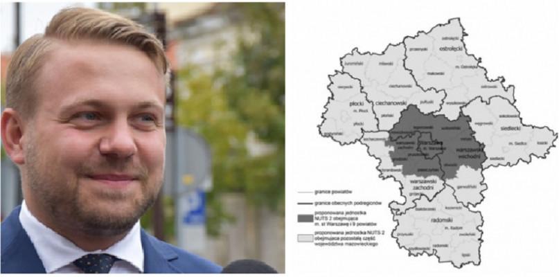 Członek rządu o podziale Mazowsza: Więcej merytoryki, mniej polityki - Zdjęcie główne