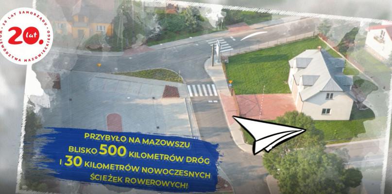 """""""PRO(W)ste historie- 15 lat województwa mazowieckiego w UE"""" [Drogi i ścieżki rowerowe na Mazowszu- VIDEO] - Zdjęcie główne"""