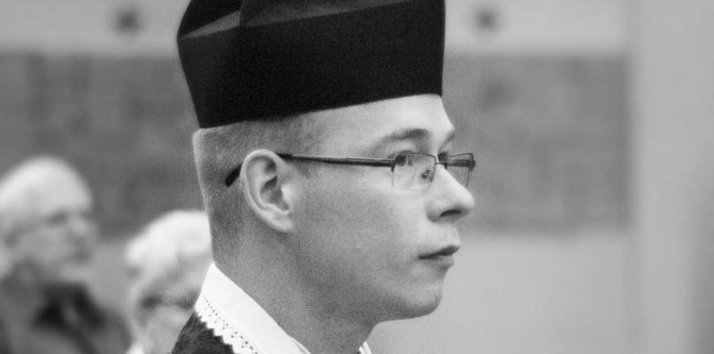 Zmarł ksiądz Sławomir Grzela - Zdjęcie główne