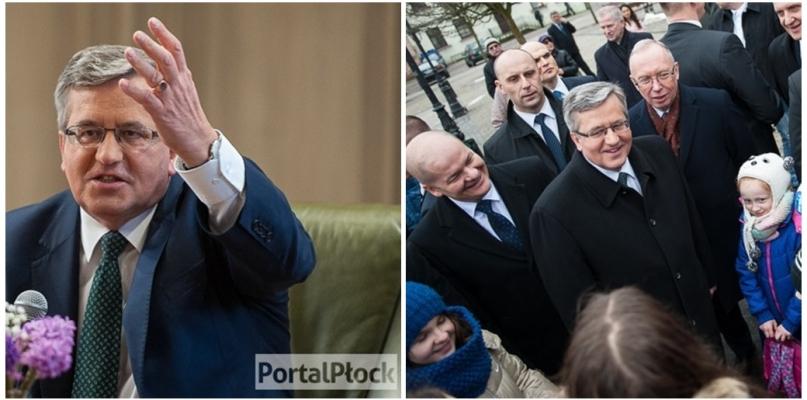Były prezydent Polski przyjedzie do Płocka - Zdjęcie główne
