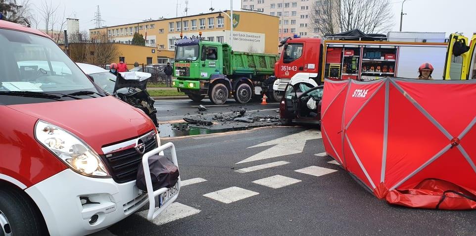 Tragiczny wypadek w Płocku. 52-letnia kobieta zginęła na miejscu - Zdjęcie główne