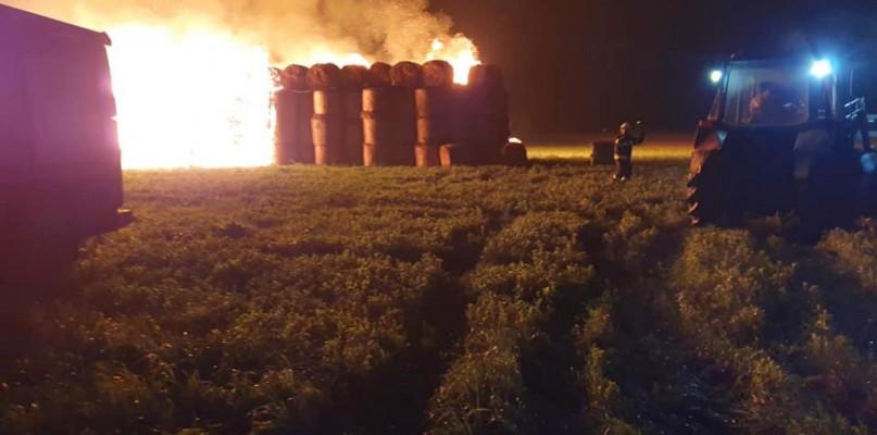 Nocna akcja. Kilkanaście jednostek gasiło pożar [FOTO] - Zdjęcie główne