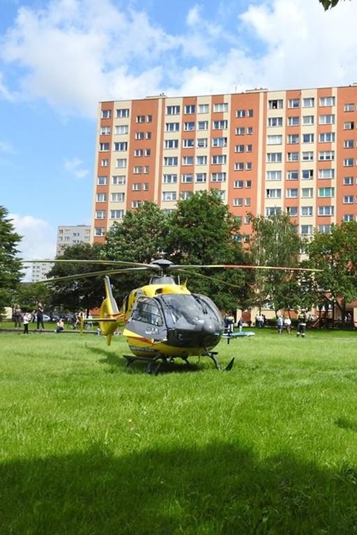 Ratowali życie, wezwano helikopter - Zdjęcie główne