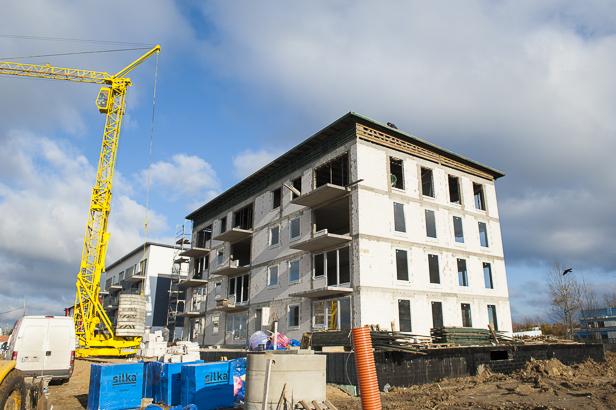 Rosną nowe bloki na nowym osiedlu [FOTO] - Zdjęcie główne
