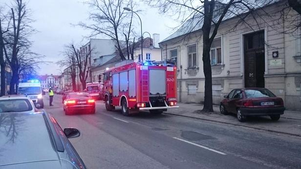 Pożar w kamienicy przy Kościuszki [FOTO] - Zdjęcie główne