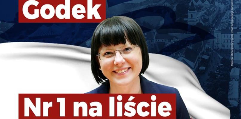 Kaja Godek startuje w majowych wyborach. Została liderką listy... - Zdjęcie główne