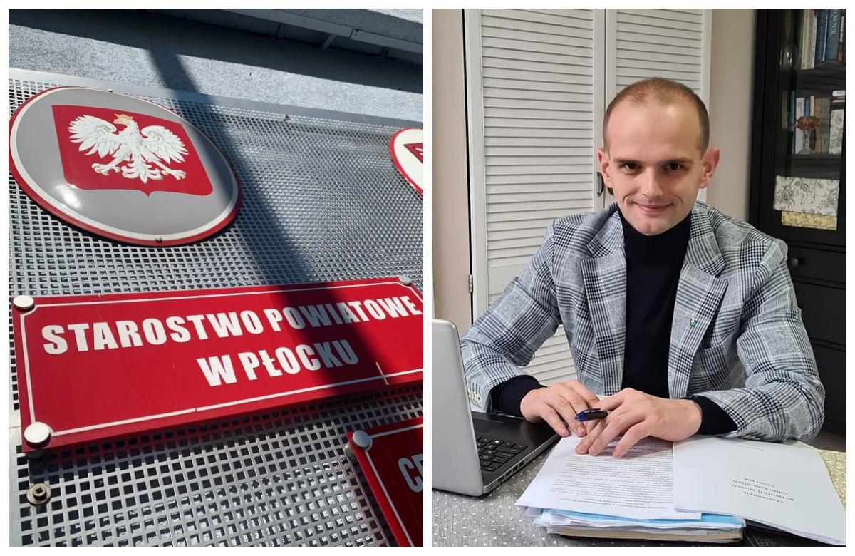 Sylwester Ziemkiewicz nowym starostą płockim. - Rozumiem ciężar tej funkcji - Zdjęcie główne
