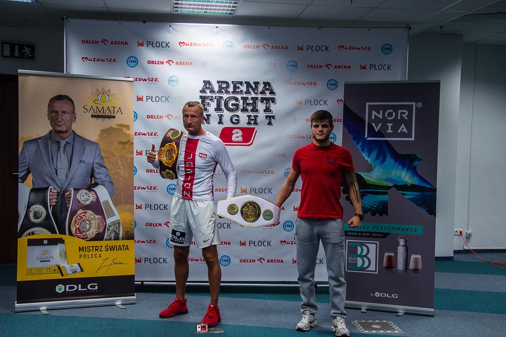 Ceremonia ważenia przed Arena Fight Night 2 - Zdjęcie główne