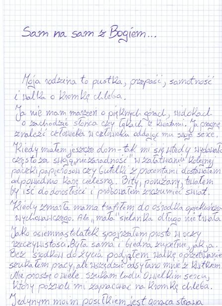 Rozpaczliwy list bezdomnego 22-latka - Zdjęcie główne