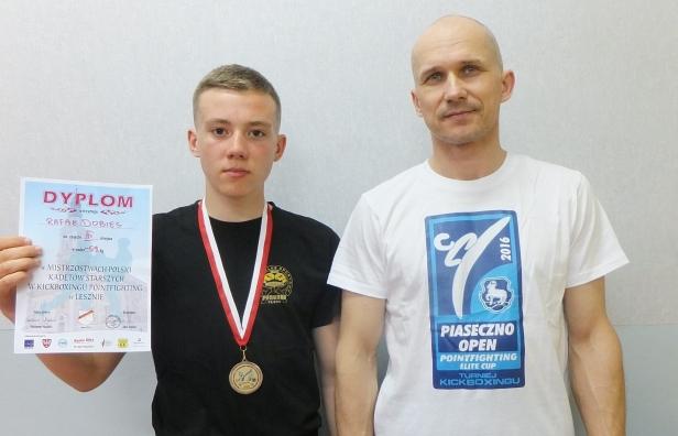 Brązowy medal dla zawodnika z Płocka - Zdjęcie główne