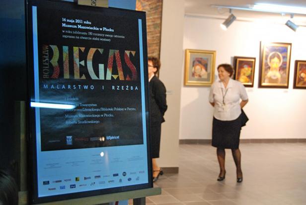 Likwidacja wystawy - właściciel zabrał prace - Zdjęcie główne