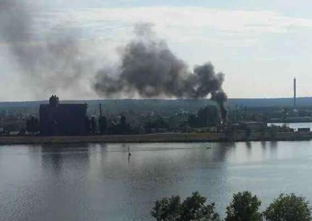 Pożar. Czarny dym nad Radziwiem [FOTO] - Zdjęcie główne