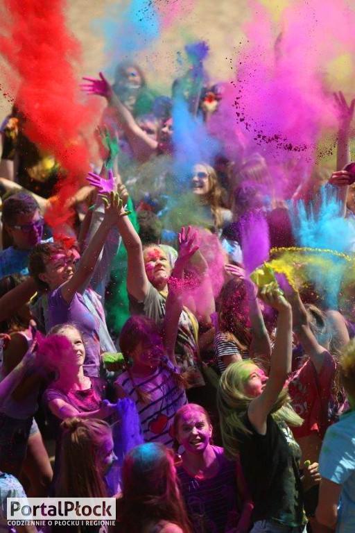 Kolorowe szaleństwo nad Wisłą - Zdjęcie główne