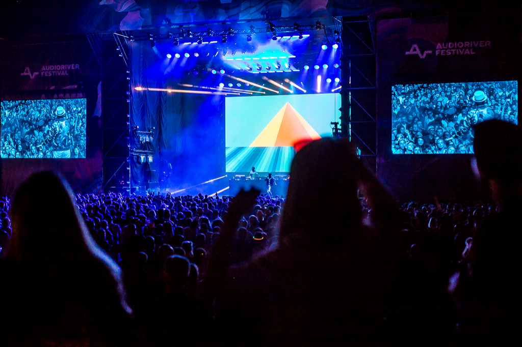 Piątkowa noc z Audioriver - Zdjęcie główne