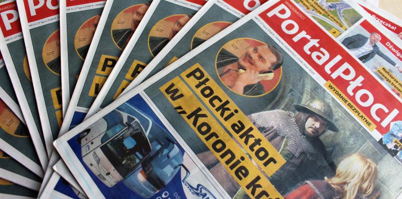Jest piąty numer Wiadomości Portal Płock. Jedyna taka gazeta na rynku! - Zdjęcie główne