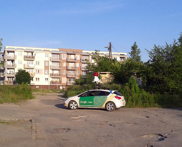 Samochód Google ponownie w Płocku - Zdjęcie główne