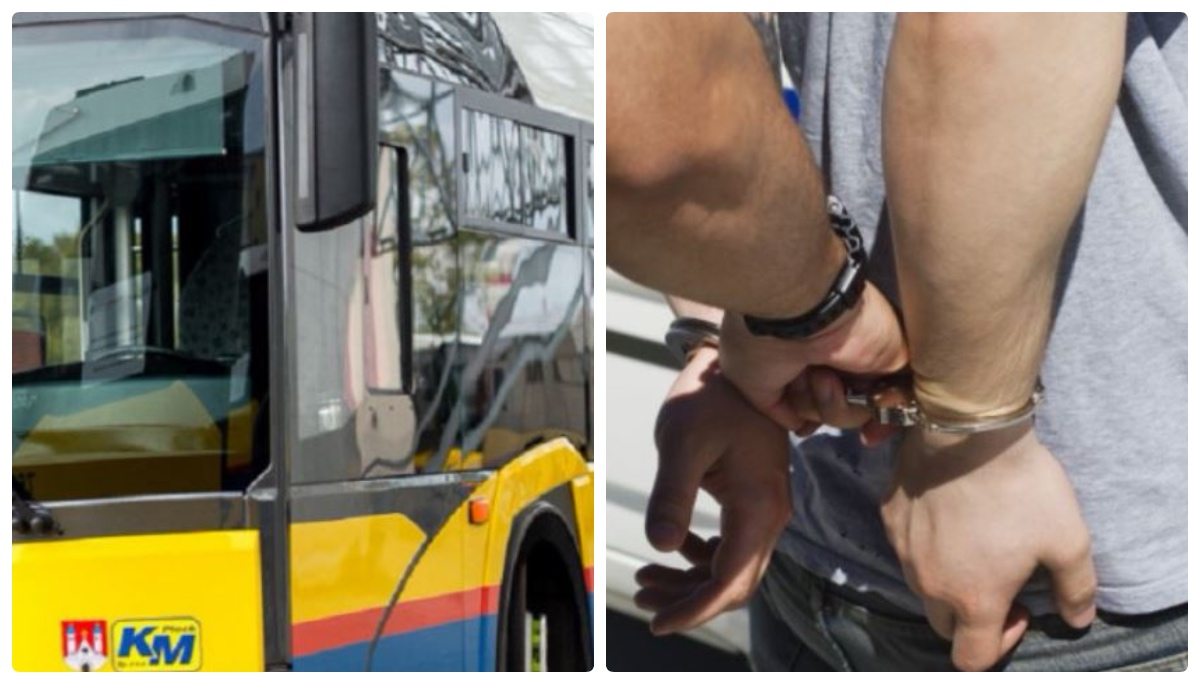 Zatrzymano podejrzanego w sprawie strzelania do autobusów. To 45-latek z Płocka - Zdjęcie główne