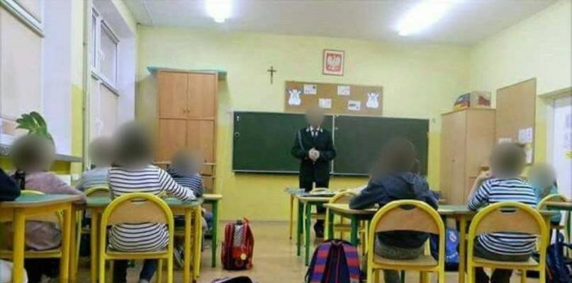 Myśliwy na lekcji w SP3. Będzie donos do prokuratury i kuratorium - Zdjęcie główne