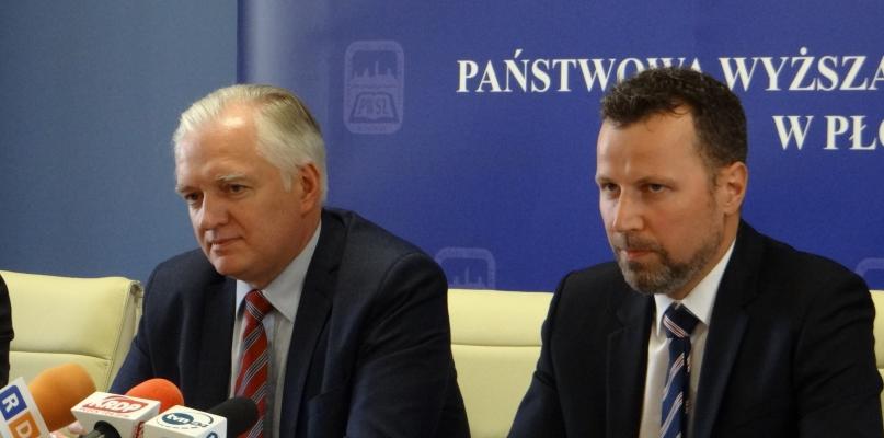 Minister odwiedził PWSZ. Poparł dążenia uczelni  - Zdjęcie główne