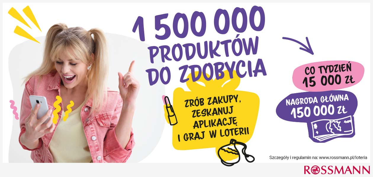 Loteria Rossmanna: Do wygrania atrakcyjne nagrody - Zdjęcie główne
