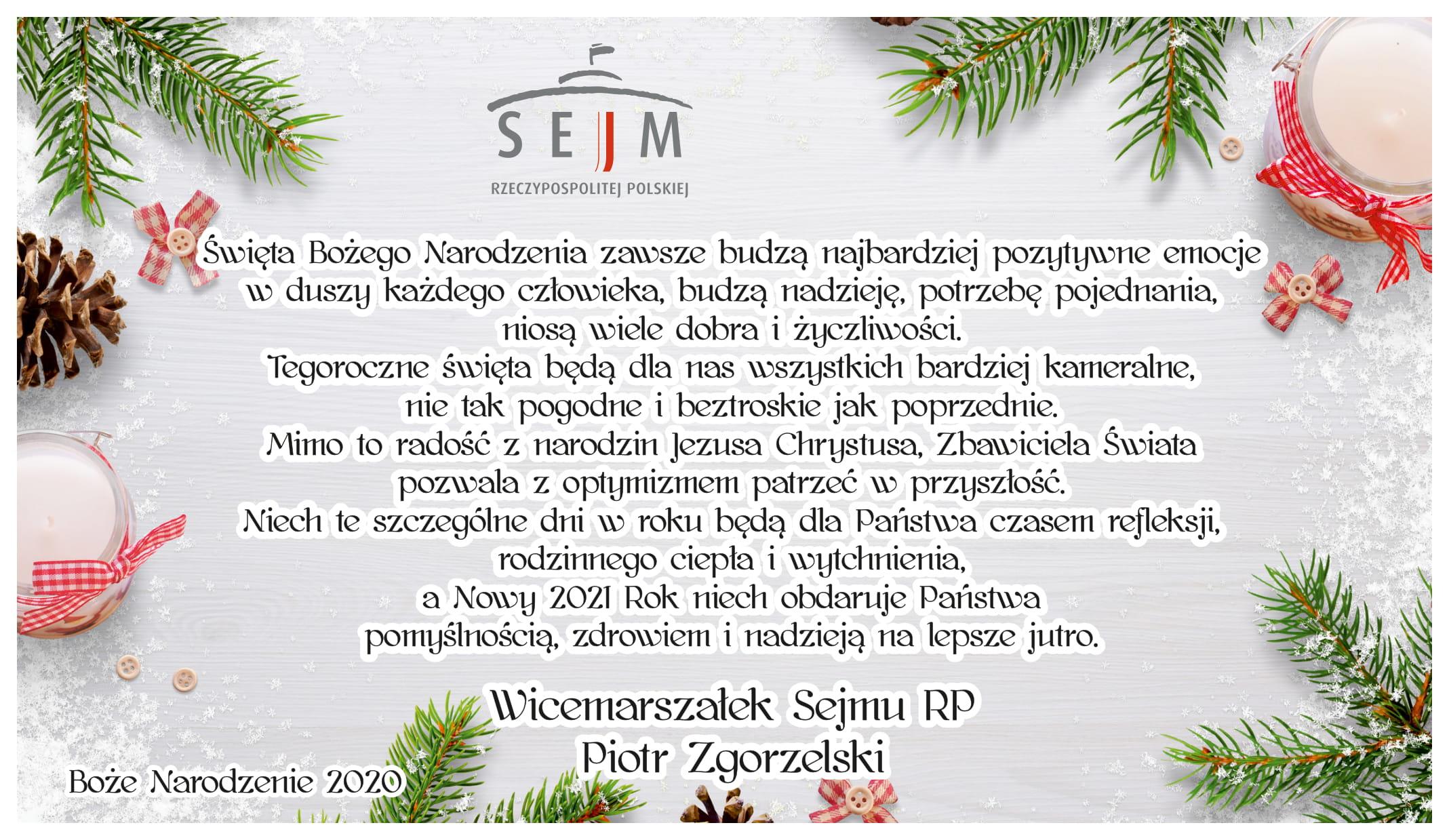 Życzenia świąteczne  - Zdjęcie główne