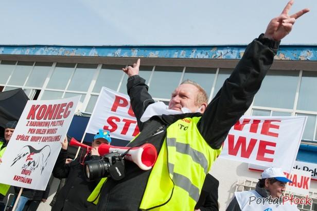 Protest w Orlenie. Nie zaczęli pracy - Zdjęcie główne