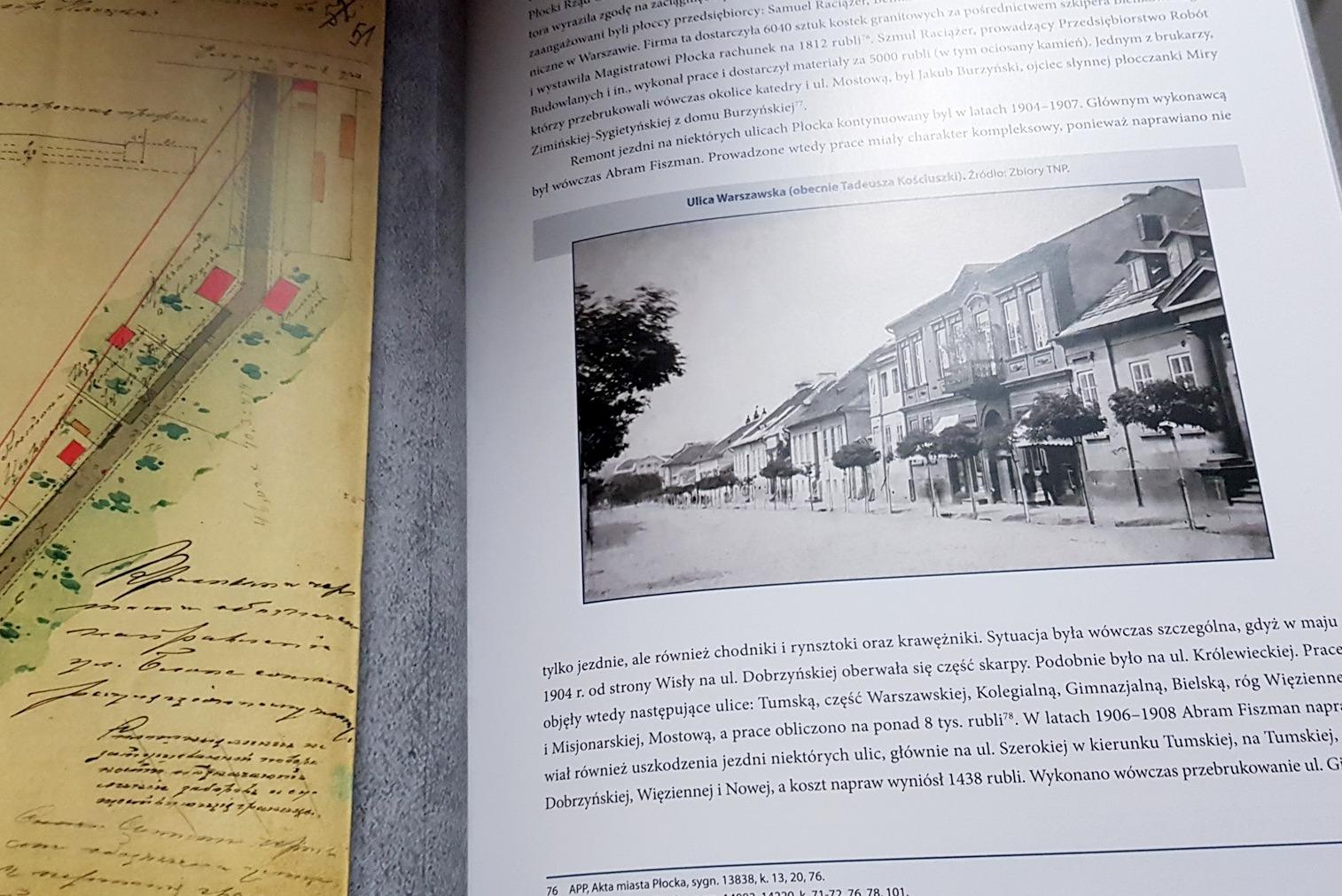Stary Płock na zdjęciach. Można otrzymać niezwykłą książkę - Zdjęcie główne