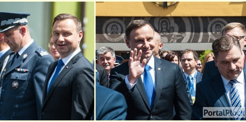 Prezydent Polski z ponowną wizytą w Płocku - Zdjęcie główne