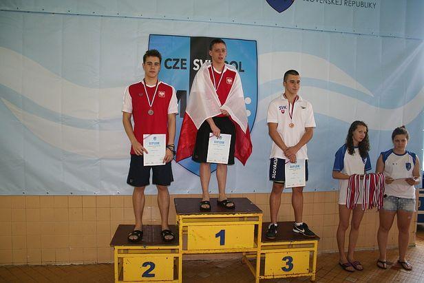 Sukcesy płockich pływaków w Koszycach - Zdjęcie główne