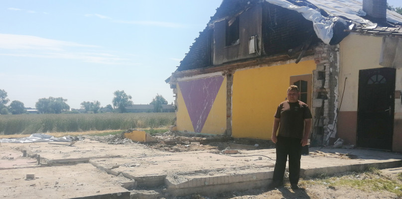 Pożar zniszczył dom strażaka. Trwa zbiórka, pomóżmy! - Zdjęcie główne