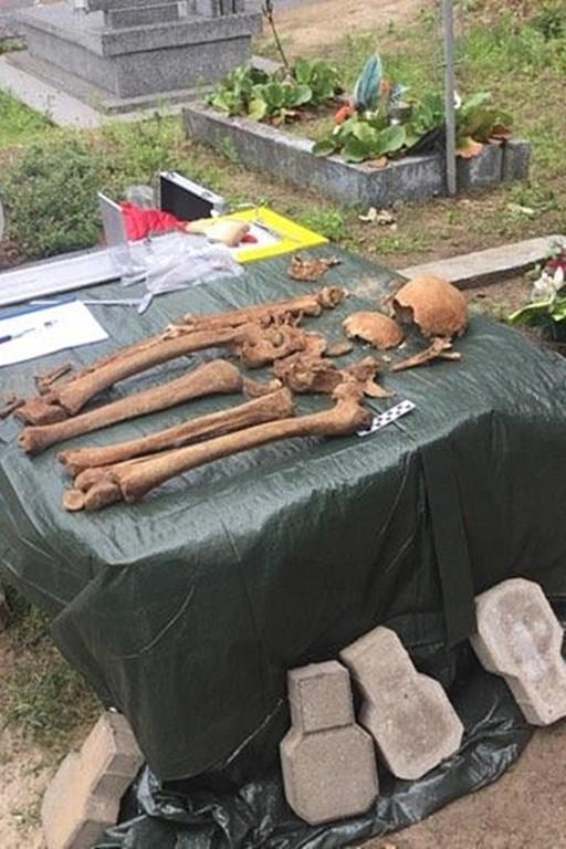 Zakończono ekshumację na cmentarzu - Zdjęcie główne