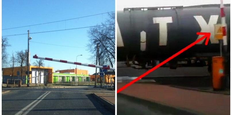 Niebezpieczny przejazd. Służby techniczne pracują na miejscu - Zdjęcie główne