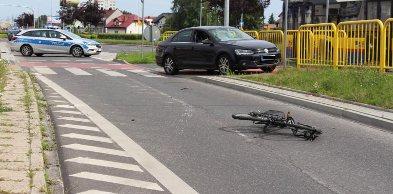 Wypadek przy wiadukcie. Ranny 52-letni rowerzysta  - Zdjęcie główne
