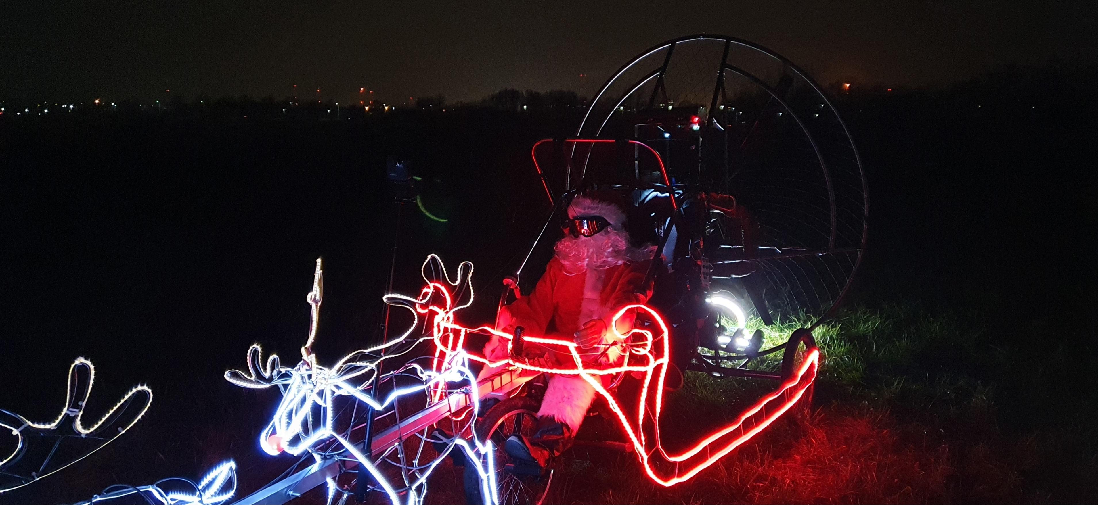 Św. Mikołaj dotarł już do Płocka [WIDEO] - Zdjęcie główne