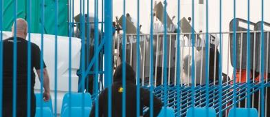 Sześciu kibiców zatrzymanych po zadymie na meczu z Pogonią - Zdjęcie główne