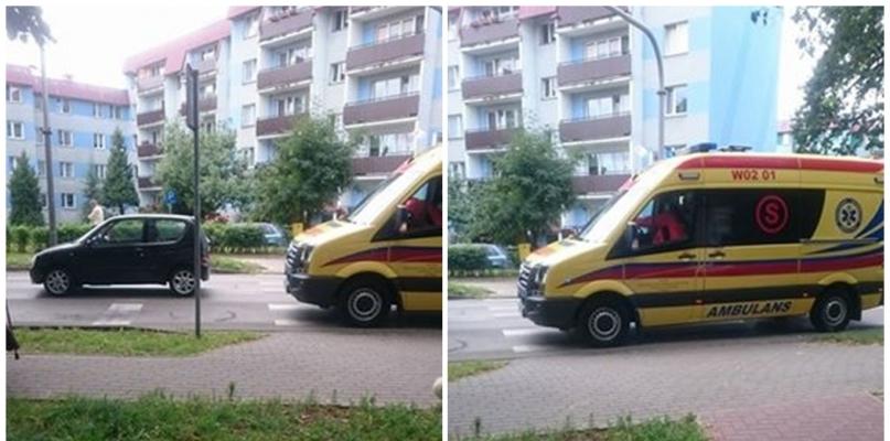 Potrącenie pieszej. Kobietę zabrano do szpitala - Zdjęcie główne