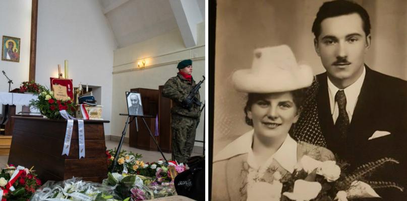 Poruszające pożegnanie. Wnuczka wspomina żołnierza - Zdjęcie główne