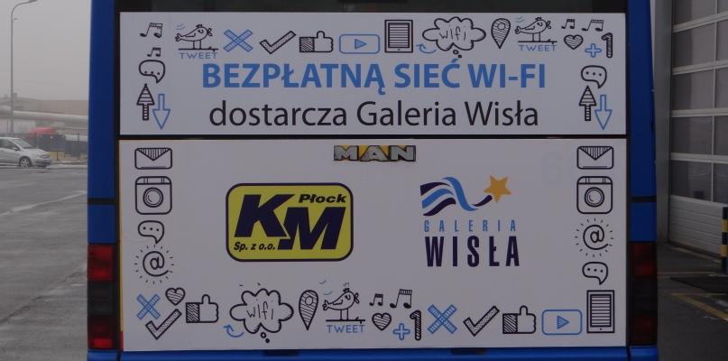 Dobra wiadomość: darmowe Wi-Fi w płockich autobusach - Zdjęcie główne