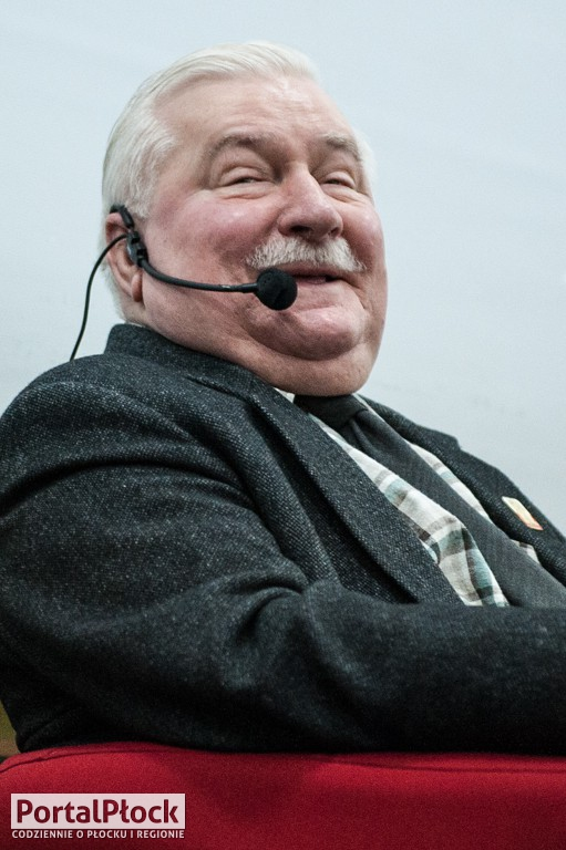 Lech Wałęsa w Płocku - Zdjęcie główne