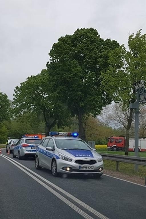 Poważny wypadek w Brochocinie - Zdjęcie główne