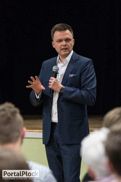 Szymon Hołownia w Płocku - Zdjęcie główne